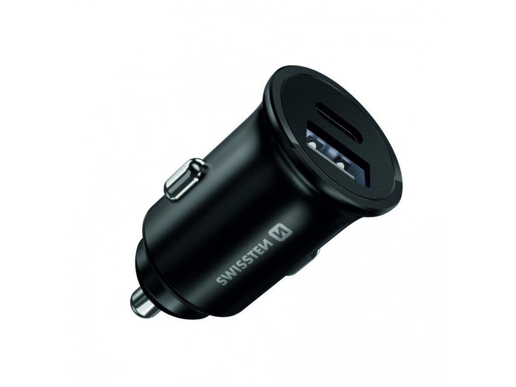 SWISSTEN CL adaptér Power Delivery 20 W pro iPhone 12 + 10W