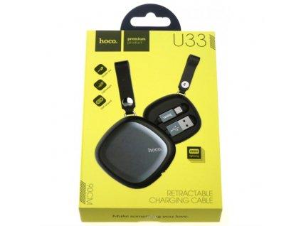 HOCO datový kabel U33 USB / lightning 1,3 m
