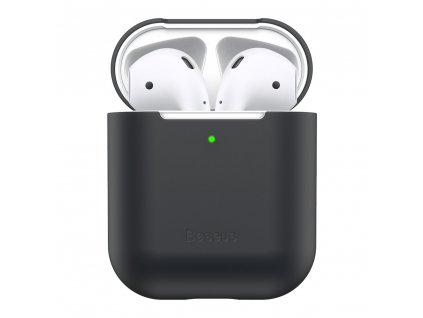Baseus Ultrathin Series Silica Gel Protector for Airpods 12 black WIAPPOD BZ01 2