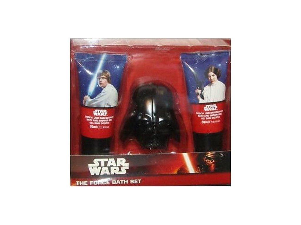 STAR WARS Dárková koupelová sada THe Force bath set 3 ks