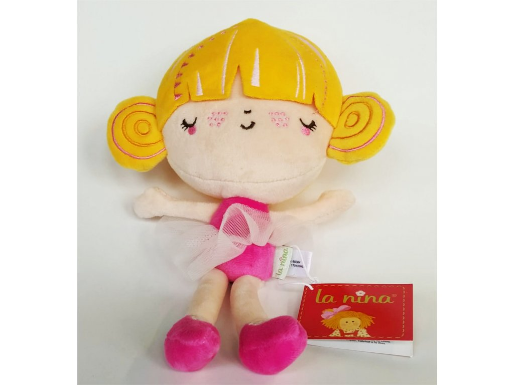 La Nina plyšová panenka 27cm