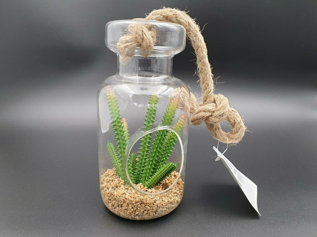 Květinová váza - láhev