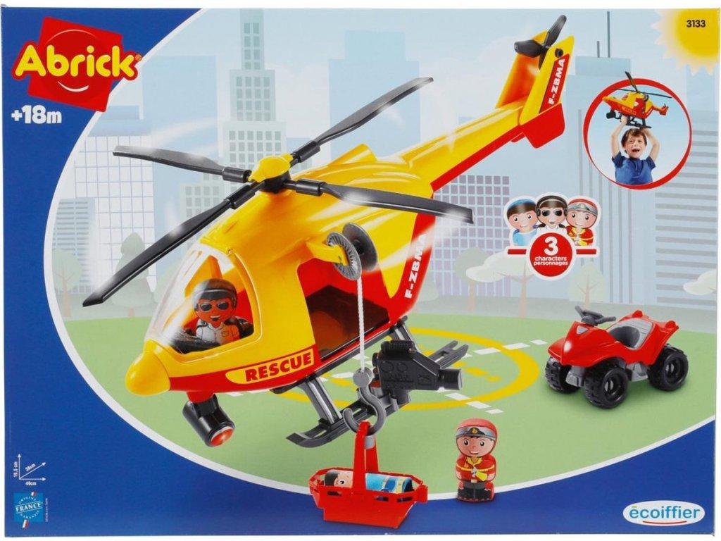 Záchranný vrtulník ABRICK