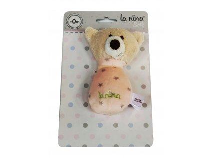 La Nina plyšový medvídek 13cm