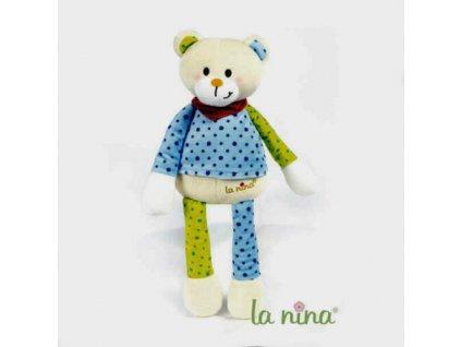 La Nina - velký plyšový medvěd 37cm