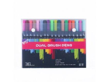 Fine Sketch Marker Estilografo Dibujo Dual Brush Brush Pen Pastel Tipped Pen Painting Watercolor Dual Brush.jpg 640x640