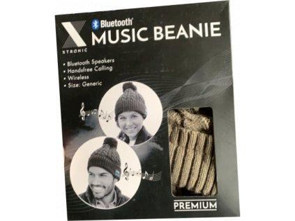 Zimní hudební čepice s bluetooth  různé barvy