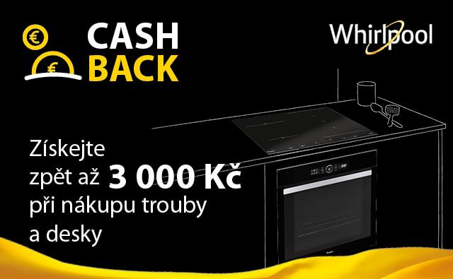 Získejte zpět až 3000 Kč při nákupu trouby a desky