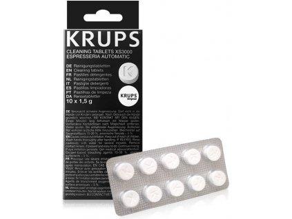 XS300010 Krups čistící tablety 10ks