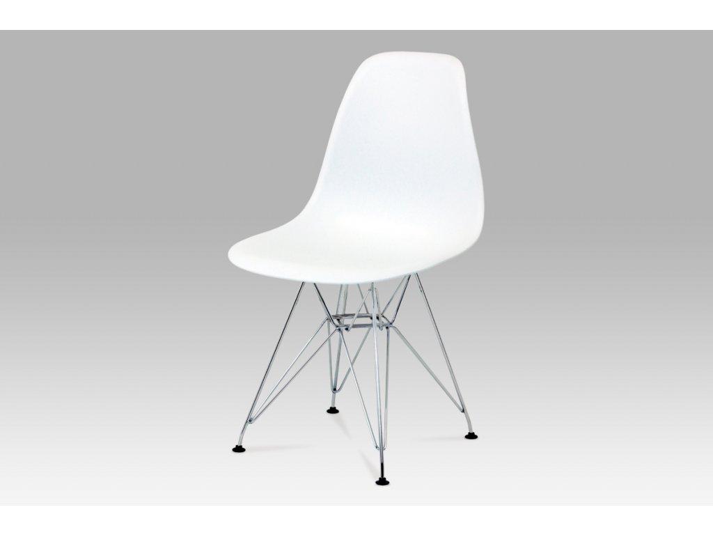 Jídelní židle AQ-S278 WHITE