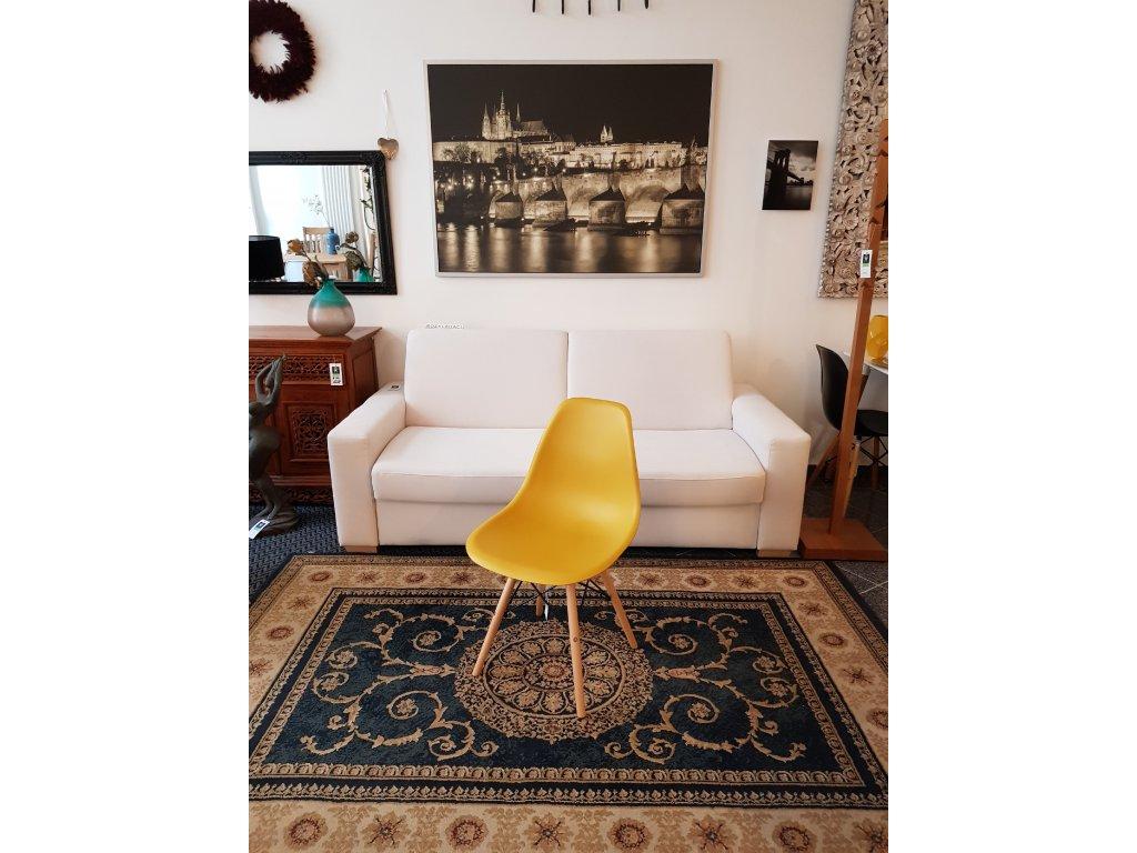 Jídelní židle AQ-S288 žlutá
