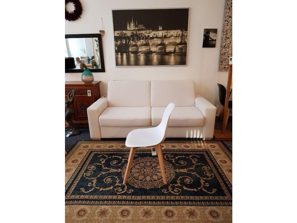 Jídelní židle AQ-S488 bílá