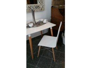 Jídelní židle AQ-S388 WHITE