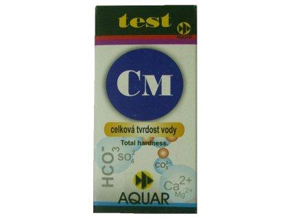 Test CM - celková tvrdost vody