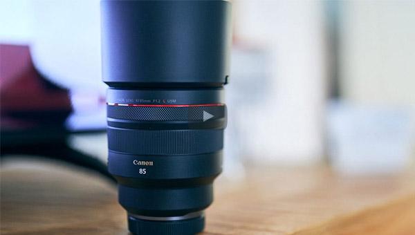 Špičkový objektív Canon RF 85/1.2 L USM