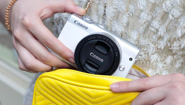 Úžasne jednoduchá Canon EOS M200