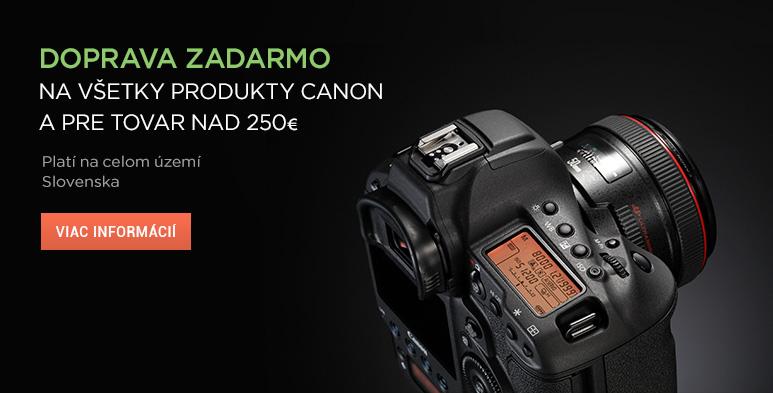 Canon doprava zadarmo