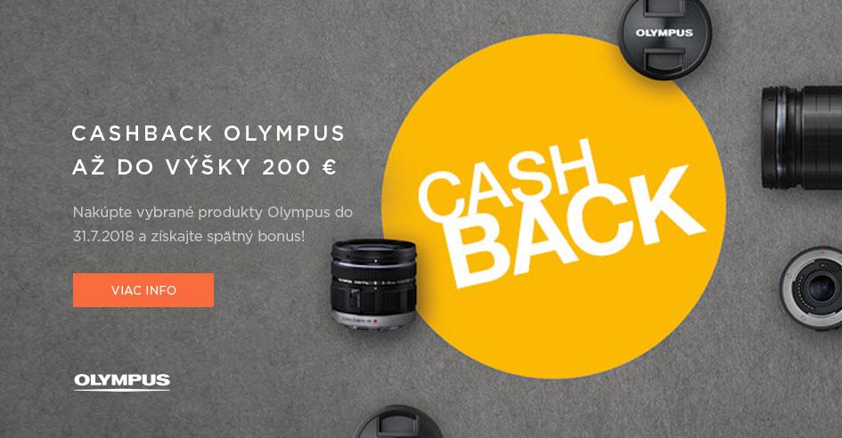 Olympus letný cashback