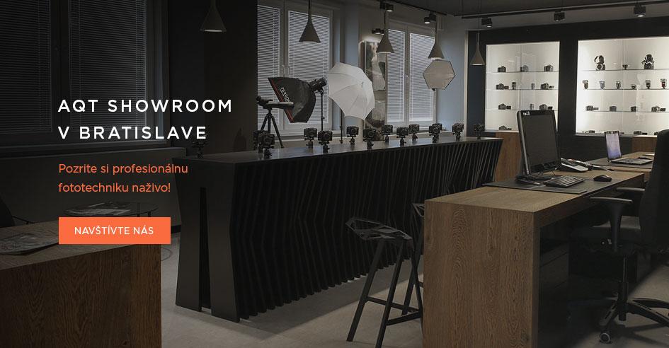 Showroom foto a video techniky