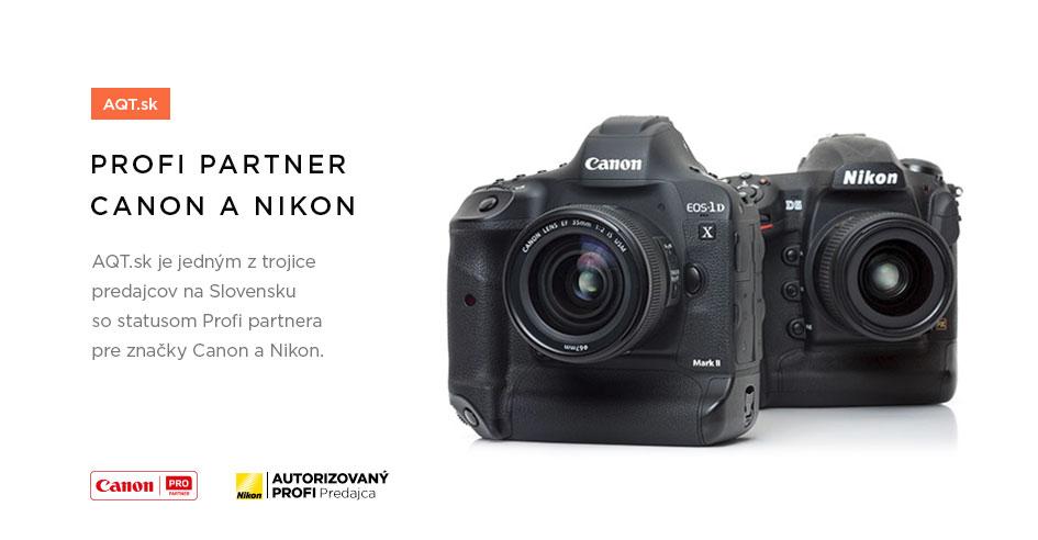 Profi partner Canon a Nikon