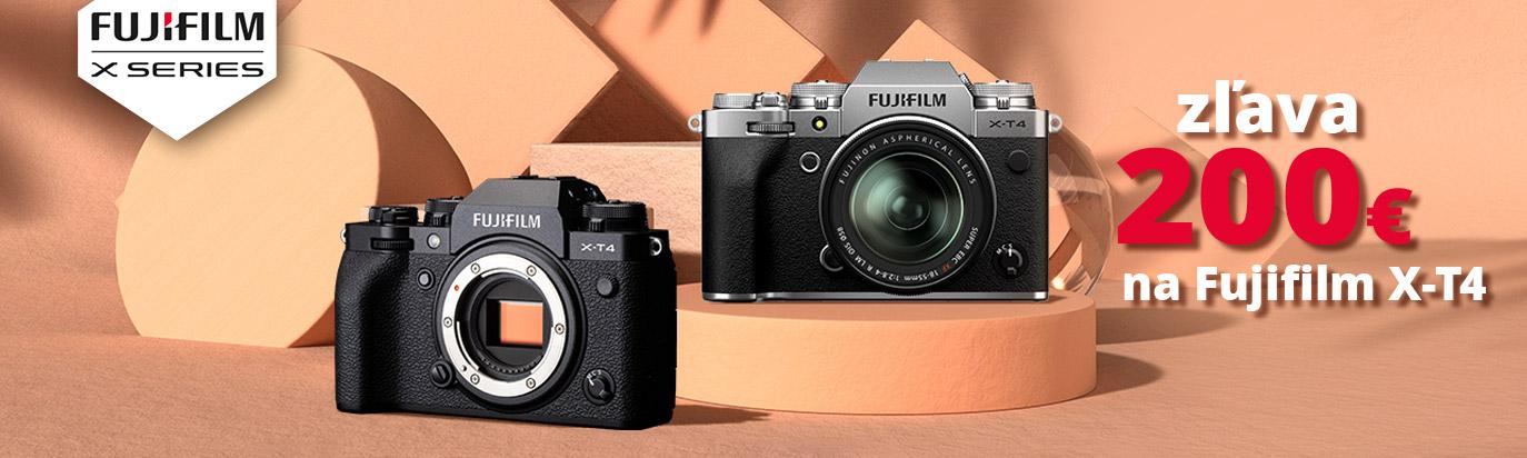 Fujifilm X-T4 - zľava 200 Eur