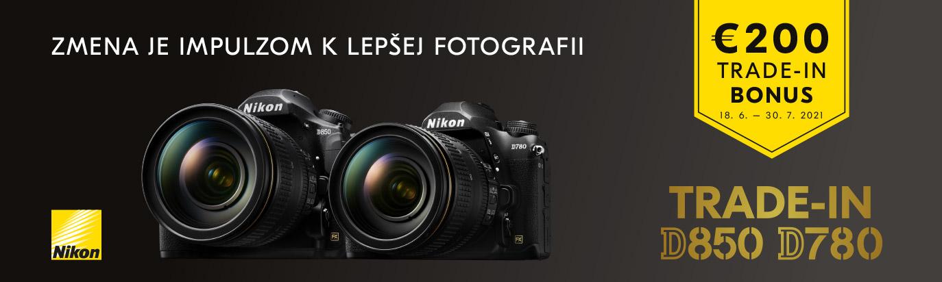 Nikon D850 a D780 - Zľava 200 €