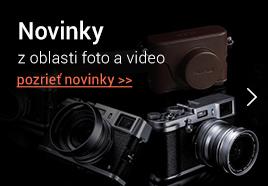Novinky z oblasti foto a video