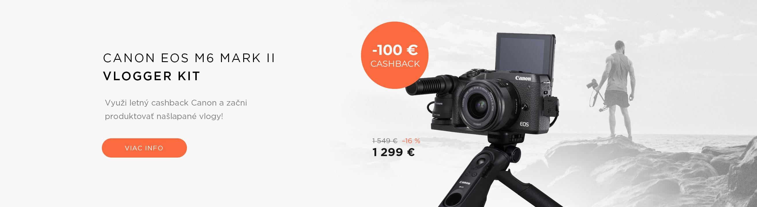Canon EOS M6 mark II Vlogger Kit