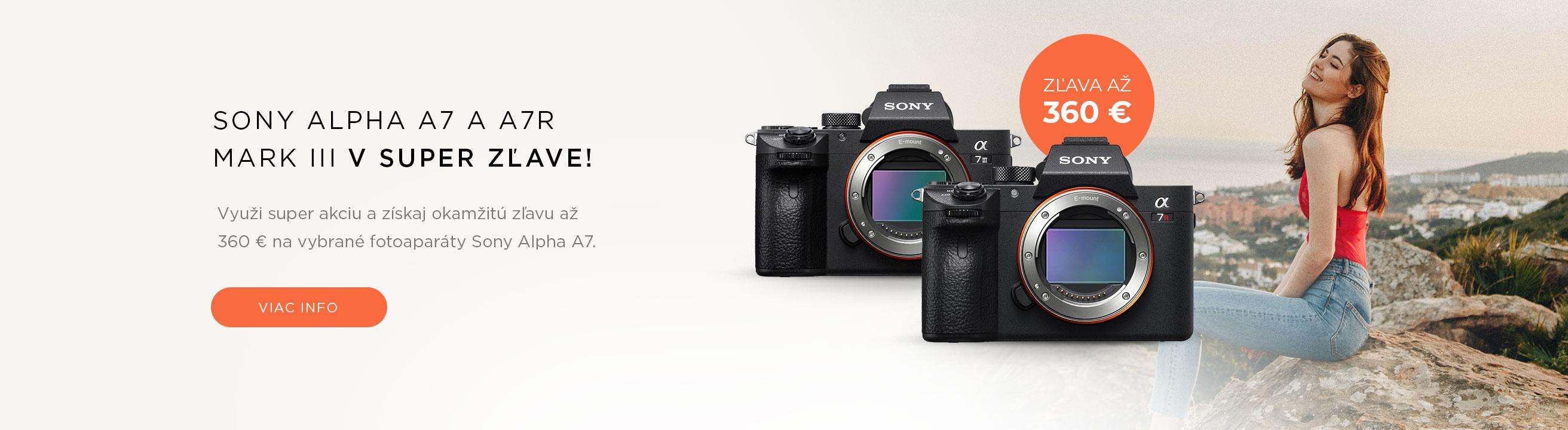 Sony A7 Mark III v super zľave!