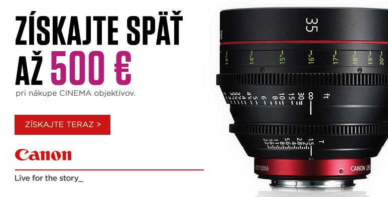 Canon Lens promo