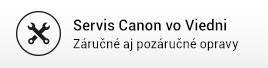Servis Canon vo Viedni