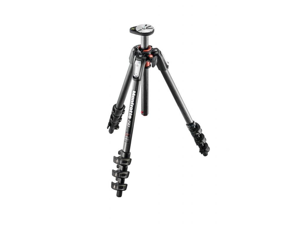 Manfrotto 190 Carbon Fibre 4-Section camera tripod
