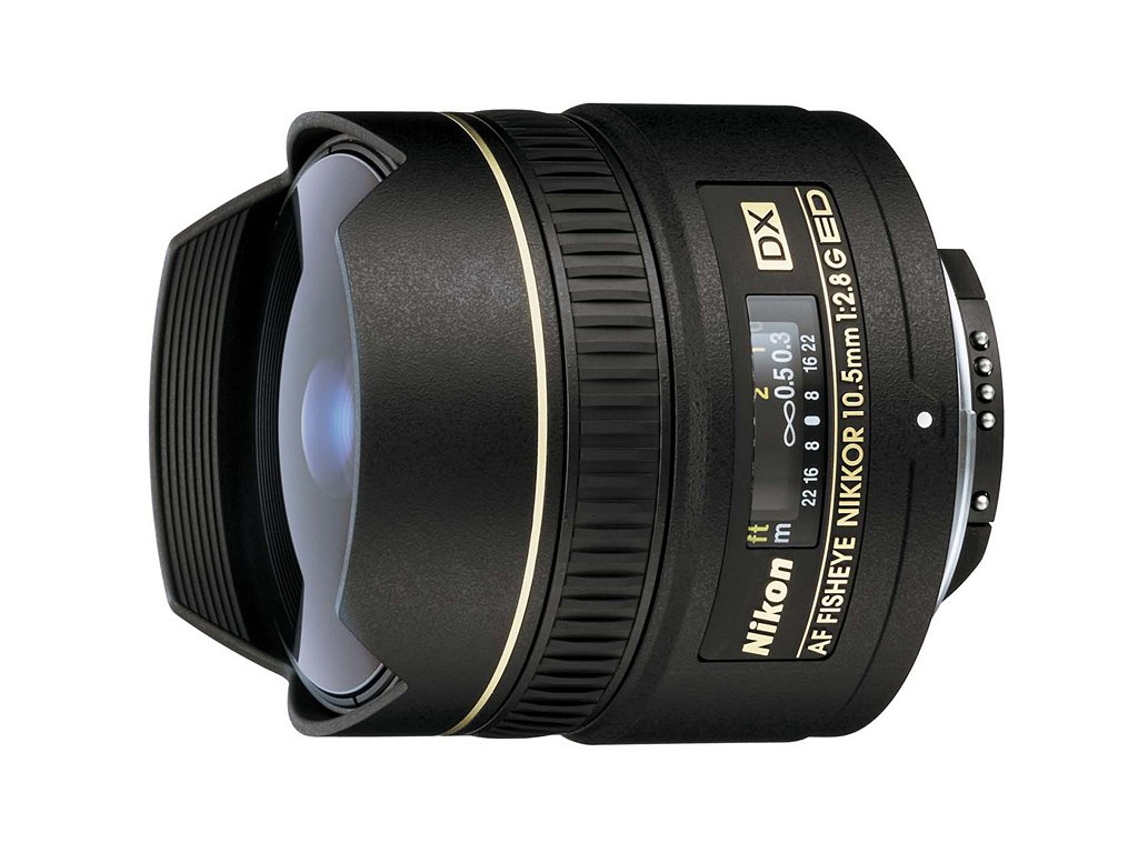 15858(2) nikon 10 5mm f 2 8g ed dx fisheye nikkor