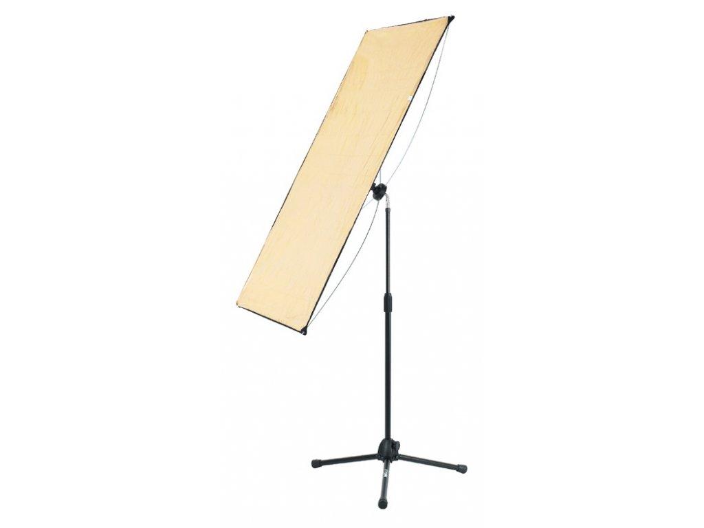 Lite panel SG 100x 180cm SILVER/GOLD, FOMEI