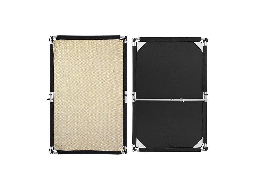 24084 quick clap slip 1 5 x 2m gold silver stripe black fomei