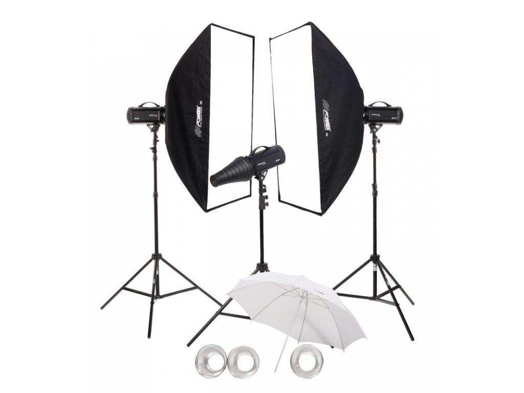 28675 4 digital pro x 500 500 500 kit studiovych bleskov
