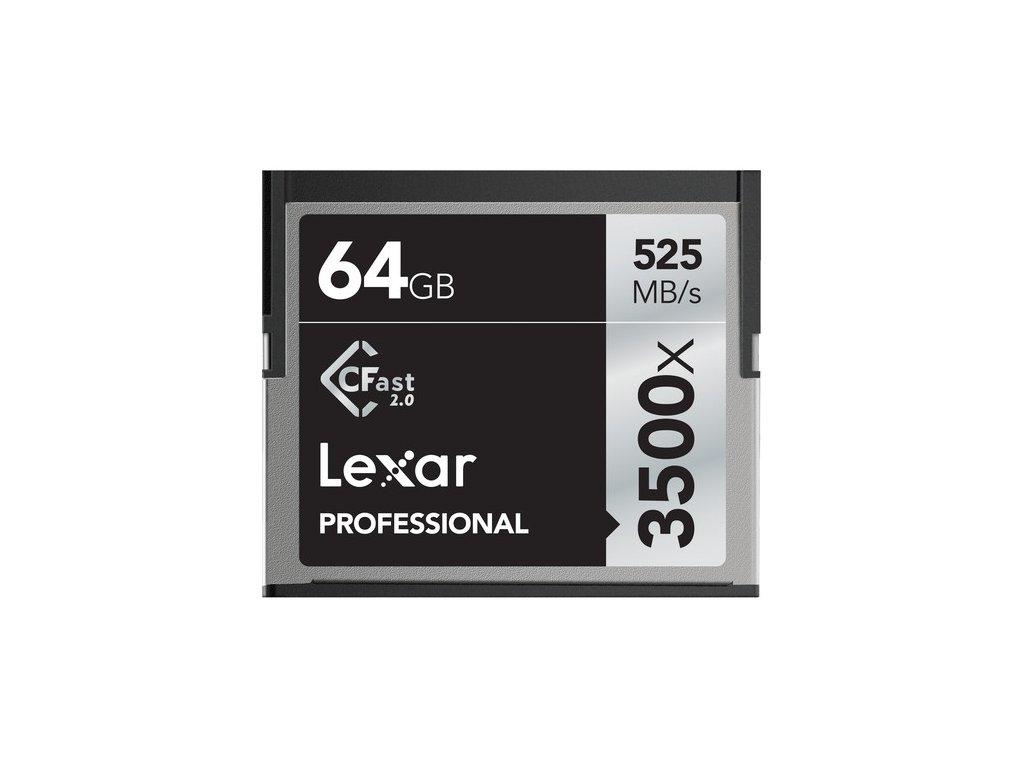 32350 lexar cfast professional 64gb 3500x