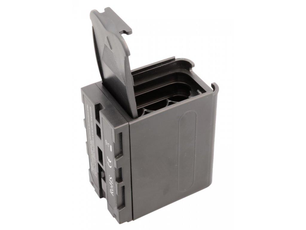 35868 2 bateriove puzdro pre 6x aa np f sony