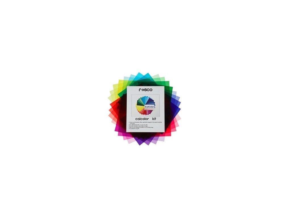 ROSCO kit farebných filtrov 25,4x30,48cm, ROSCO