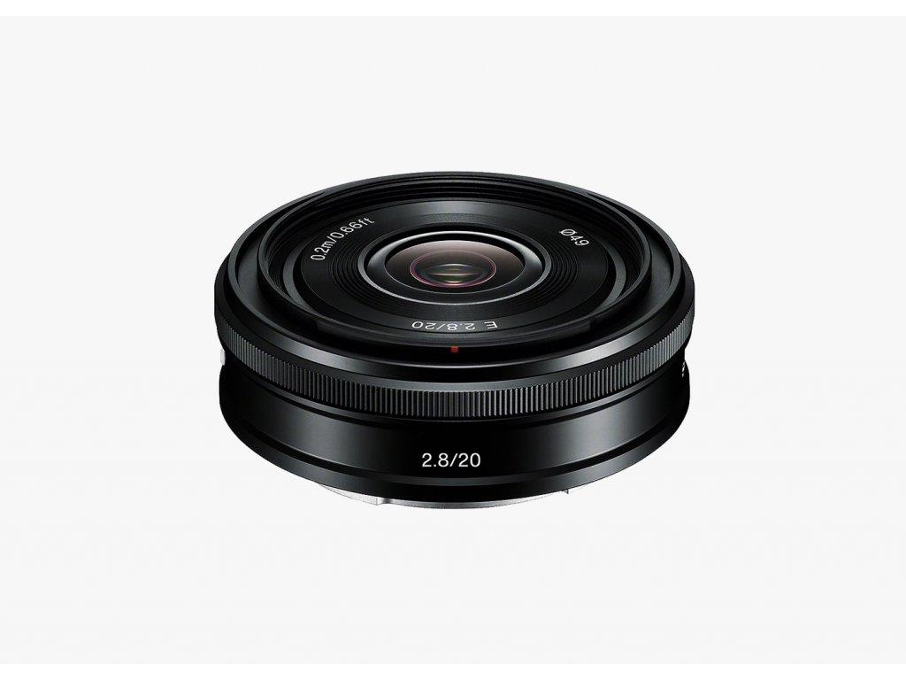 Sony E 20mm f 2.8 (E Mount) 1