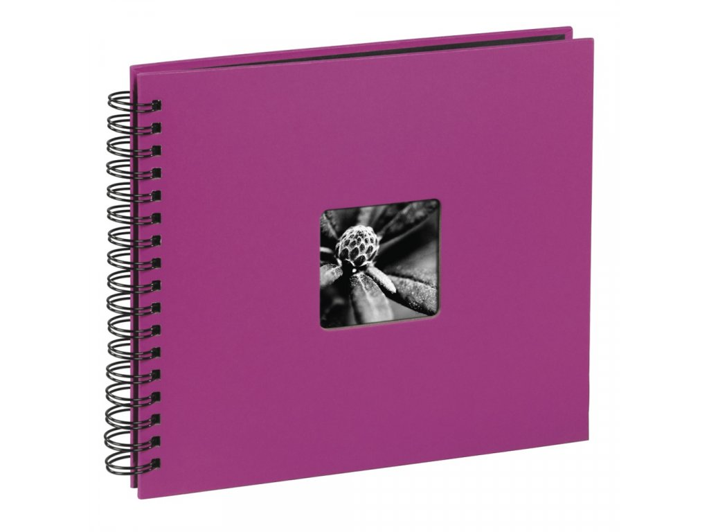 Hama  Fine Art   36x32/50  10608 Spiralbound Album, pink