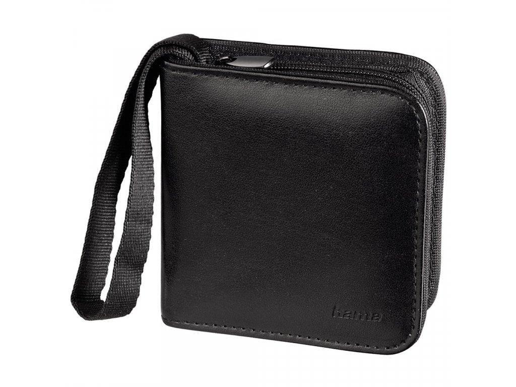 49026 2 hama memory card wallet 12 sd black 95980