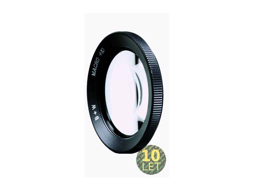 49401 b w macro close up lens 10 55
