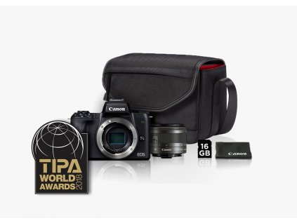 Canon EOS M50 EF M 15 45mm f3.5 6.3 IS STM KIT Brašňa