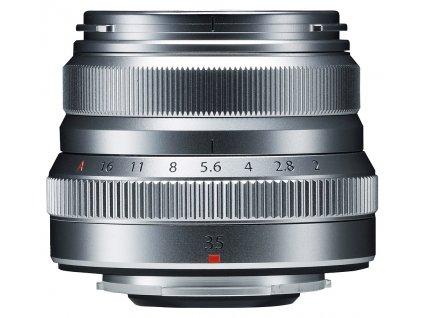 x Fujifilm Fujinon XF 35mm F2 R WR Silver F