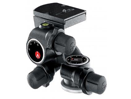 Manfrotto 410 Junior Geared Tripod Head, easy to use ergonomic knobs