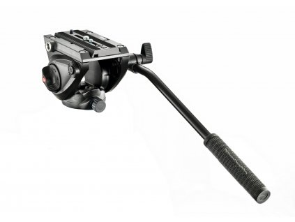 Manfrotto 500 Fluid Video Head with flat base