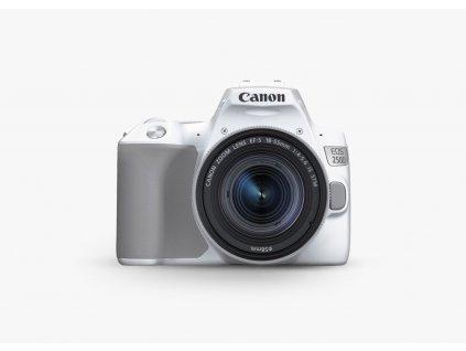 Canon EOS 250D 18 55 biely