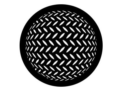 147300 rosco gobo maska diamond sphere no 78444