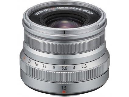 148710 fujifilm fujinon xf 16mm f 2 8 r wr strieborny